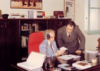 Yurii Lotmann e Mario Grasso (Inaugurazione nuova sede di Prova D'Autore, 1987)